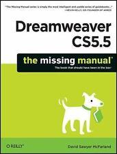 Missing Manual: Dreamweaver CS5.5 by David Sawyer McFarland (2011, Paperback)