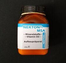 Nekton MSA Vitamin D3 Calcium and tonic 180g