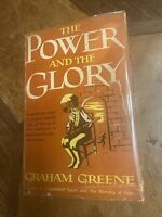 THE POWER AND THE GLORY  GRAHAM GREENE  THE VIKING PRESS 1st Edition 1946 VG/G/w