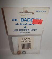 Badge Air Brush Ti 00006000 re Adaptor #50-029 Nip