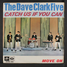 DAVE CLARK FIVE: Catch Us If You Can / Move On 45 (Italy, PS) Rock & Pop