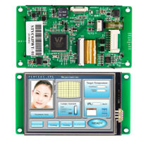 3.5 Inch HMI Embedded Industrial Controller Display LCD with Touch Screen