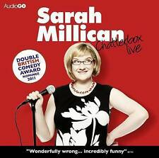 SARAH MILLICAN - CHATTERBOX LIVE - BRAND NEW SEALED - AUDIO CD