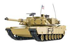 RC Panzer M1A2 Abrams Heng Long BB 1:16 Rauch Sound Schuss Metallgetriebe 2,4Ghz