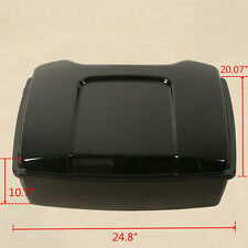 Chopped Tour Pak Pack Trunk For Harley Touring Road King Electra Glide 1997-2013