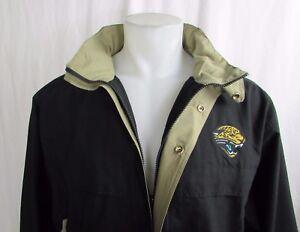 Jacksonville Jaguars NFL Mens Lightweight Hideaway Hood Windbreaker Jacket