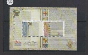 Gibraltar 2015 800th Anniversary Magna Carta M/Sheet FV £4.00 MNH per scan