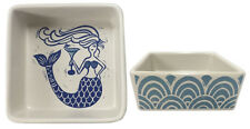 MERMAID Primitives by Kathy Porcelain Trinket Tray