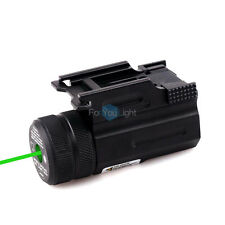 Tactical Ultra Compact Metal Built Green Laser Sight Scope Picatinny Rail Mount