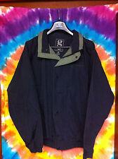 Vintage Black / Olive MOTOROLA Jacket Coat - Mens Size M (Selling Collection)