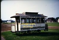 1950's New York City Horse Drawn Streetcar, Ford Museum trolley, Orig Slide b20b