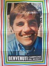 Poster Manifesti di GIOVANI 1967 73x50 cm - BOXE BENVENUTI CARLOS  [D39-19]
