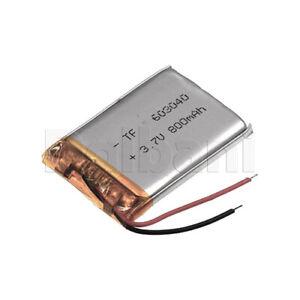 603040, Internal Lithium Polymer Battery 3.7V 800mAh 60x30x40mm