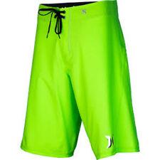 Hurley Phantom Solid Boardshort (32) Neon Green