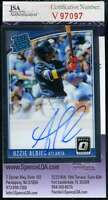 Ozzie Albie 2018 Donruss Optic Rookie Jsa Coa Autograph Authentic Hand Signed