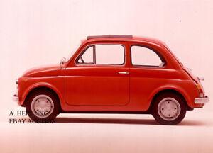 Fiat Nuova 500 1957 Cinquecento introduction new Model Year photo photograph #20