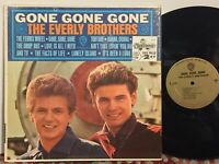 Everly Brothers Gone Gone Gone VG+ MONO GOLD LABEL IN SHRINK