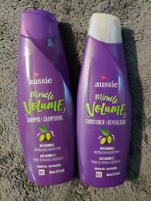 NEW AUSSIE Miracle Volume 1 Shampoo and 1 Conditioner each 12.1 oz Duo GG1