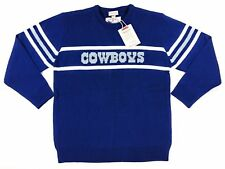 4bcda6ecf Mens Mitchell   Ness Dallas Cowboys NFL Football Retro Wool Blend Sweater XL