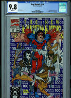 New Mutants #100 CGC 9.8 NM/MT 1991 1st X-Force Marvel Comics Amricons K16