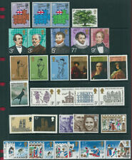 GB 1973 Complete Commemorative Collection (9) in Superb Unmounted Mint Condition