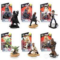 New Star Wars Disney Infinity 3.0 Figures Darth Vader Han Solo Yoda Official