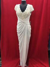 ADRIANNA PAPELL DRESS/NE WITH TAG/RETAIL$199/BLUSH/SIZE 10/MOTHER OF BRIDE