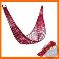 Portable Hammock Outdoor Travel Camping Garden Nylon Hang Mesh Net Sleeping Bed