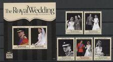 Kate, William, Royal Wedding - St.Vincent Mayreau - ** MNH 2011