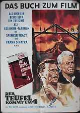 Der Teufel kommt um vier Filmposter A2 The Devil at 4 O'Clock Spencer Tracy Buch
