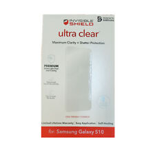 Original ZAGG Ultra Clear Screen Protector for Samsung Galaxy S10