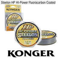 (0,03€/m) ANGELSCHNUR KONGER HI-POWER STEELON FLUOROCARBON COATED MONOFIL SCHNUR