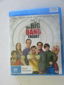 The Big Bang Theory - The Complete Ninth Season on Blu Ray