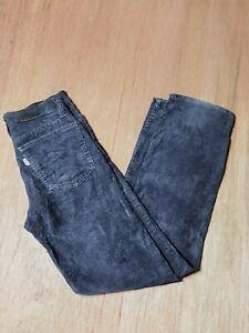 Vintage Levi's Navy Blue Corduroy Size W25 L28 Jeans Trouser Pants