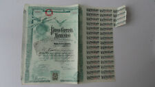 MEXICO / BANK : Banco Central Mexicano 1905 mit Coupons