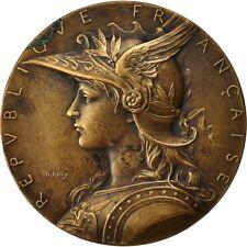[#551765] Frankrijk, Medal, Indochine, Exposition de Hanoï, 1903, Roty, ZF+
