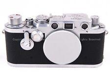 EX++ Leica Leitz IIIf III F 35mm RF Film Camera body L39/LTM w/self-timer