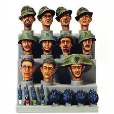 Model Victoria 1/35 Italian Heads Set WWII No.2 (11 heads) 4018