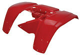 Honda TRX300 TRX 300 Rear Fender Plastic NEW ATV RED
