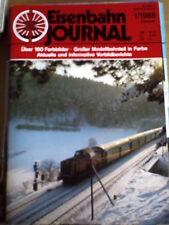 Eisenbahn Journal 1 1988 -- Zirkus und Lokomotive