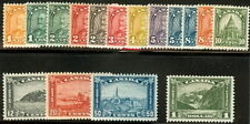 CANADA #162-77 Complete set, og, NH/LH, Scott $652