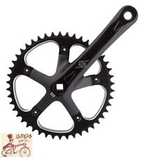 ORIGIN8  TRACK  SINGLE SPEED 175MM--46T BLACK BICYCLE CRANK SET