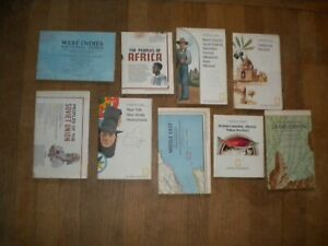 Lot of 9 1970s National Geographic Maps Grand Canyon, West Indies, California