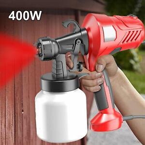 Electric Paint Sprayer Wagnar Airless HVLP Handheld Spray Gun Home Indoor Fence