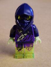 Lego Ninja Ninjago - Ghost Ninja Attila Figur ( blau neon Atila Atilla ) Neu