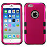 Shockproof Duo Layer Case Hard Plastic+Skin Hybrid Cover for iPhone 6 / 6s