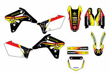 Suzuki RMZ450 2007 graphic kit  decals stickers mxgrphics rmz 450 mxgraphics
