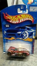 HOT WHEELS 2001 EXTREME SPORTS SERIES # 083  TWIN MILL II RED