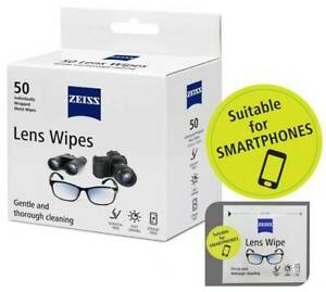 Zeiss Lens Wipes Lens Cleaner Optical Glasses Camera iPad Iphone Mobile Screen