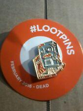 loot crate Enamel Pin Color Dead
